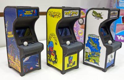 Arcade-pelikoneet kävivät kutistimessa